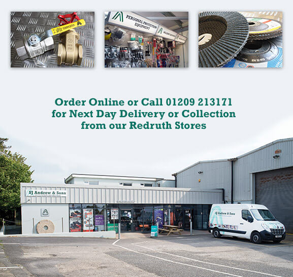 Next Day Delivery or Collect from our General Stores in Redruth*