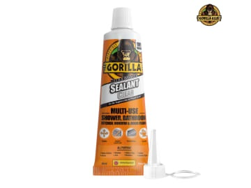 Gorilla Mould Resistant Sealant Clear Tube 80ml