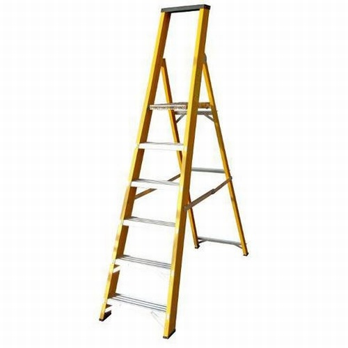 Heavy Duty Glassfibre Platform Stepladder GFBP6