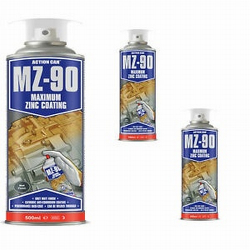 MZ-90 Matt Cold Zinc Galvanising Paint 500ml
