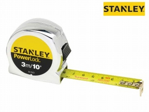 PowerLock® Classic Pocket Tape Measure 3m/10ft (Width 19mm)