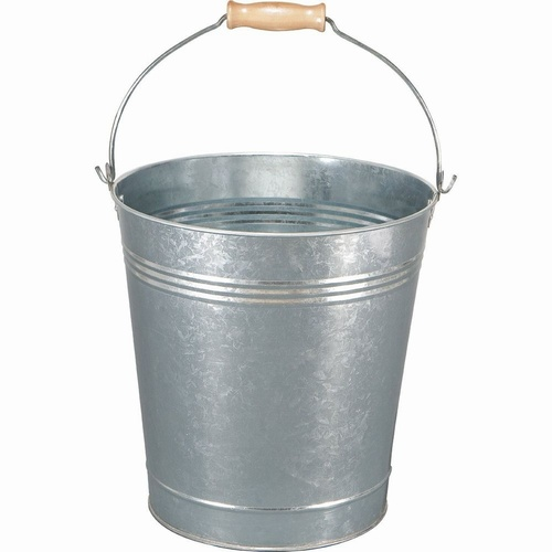 12 LTR Galvanized Bucket