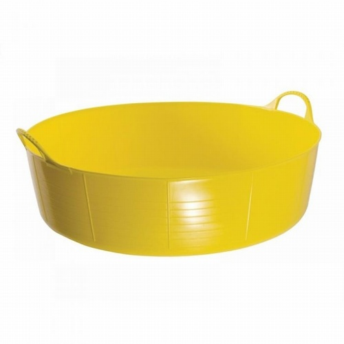 Yellow Gorilla Shallow Tub Large (35L)