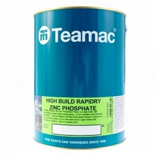 5 Ltr Teamac Red Primer High Build Rapidry ZP