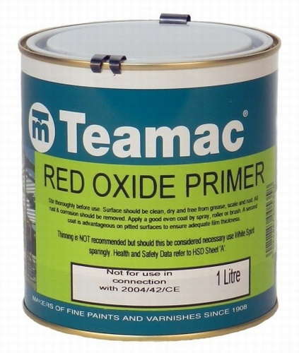 1 Ltr Red High Build Zinc Oxide Primer
