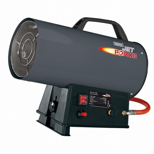 Draper Jet Force, Propane Space Heater - 34,000 BTU (10Kw)