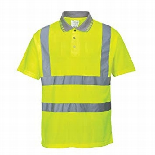 Hi-Visibility Ribbed Polo Shirt