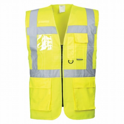 Hi-Vis Yellow XL Berlin Executive Vest
