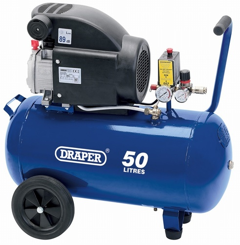 Draper Air Compressor 50LTR-2HP 230V