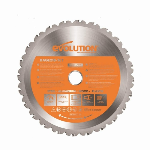Evolution 210mm Multi-Purpose Blades