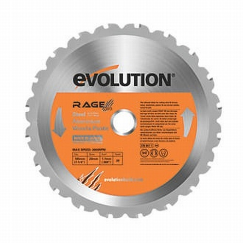 Evolution 185mm Rage TCT Saw Blade