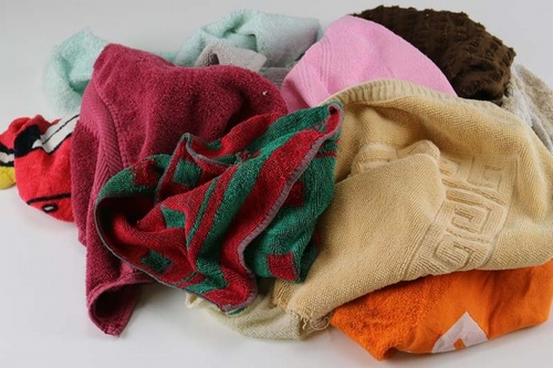 10KG Bag Colour Towling Rags