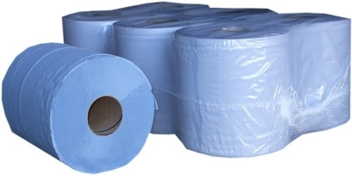 Blue 2-PLY Centre Feed 150mtr x 190mm