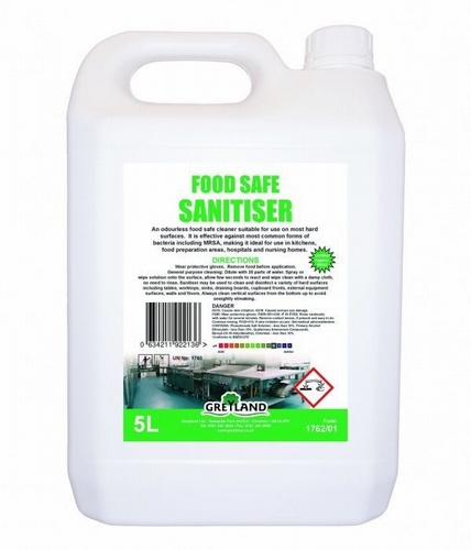 Food Safe Sanitiser 5Ltr