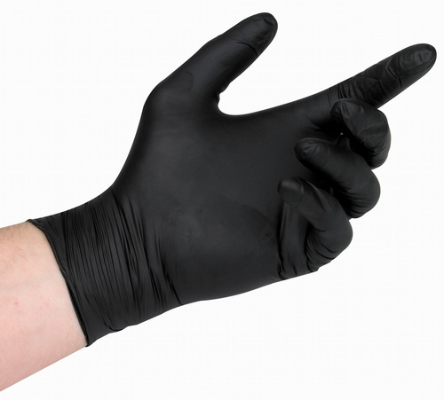 G900 Nitrile PF Black Gloves (Pack 100)